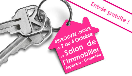 Grenoble habitat alpexpo le 2 3 4 octobre for Salon de l immobilier grenoble