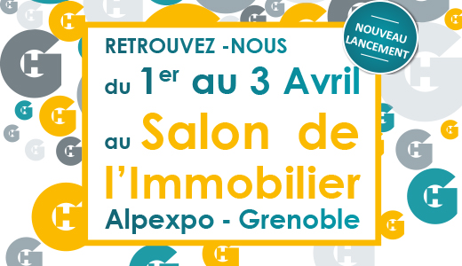 Grenoble habitat au salon de l 39 immobilier d for Salon de l immobilier grenoble