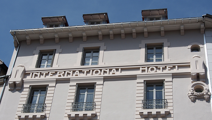 Hôtel international - Grenoble - 2016